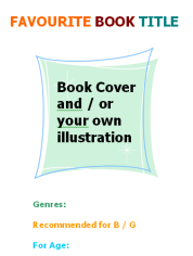 Poster Favourite_book_template_image