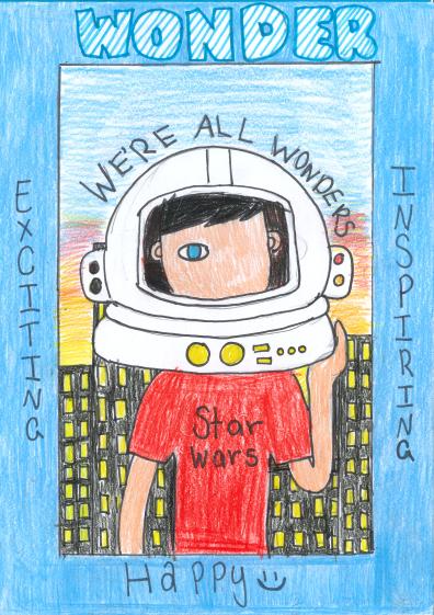 Wonder by R. J. Palacio - poster by Mackenzie Allison